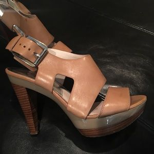 Designer Michael Kors high heels shoes